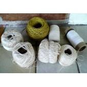 7 Bobines Coton � Crochet Dmc - 4 Font 80 De Diam�tre ,Non Connus Pour Les Autres ,Ann�es 80