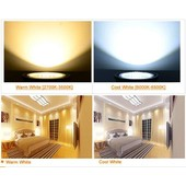 Ampoule Led Lampe Spot Blanc Chaud 4w Cob Spotlight Gu10 85v-245v New Spotlight Gu10
