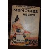Fr�d�ric Mistral. Mes Origines. M�moires Et R�cits. 1929 de Fr�d�ric Mistral
