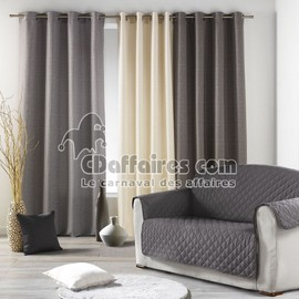Prot�ge Canap� 2 Places 223x179 Cm Anthracite