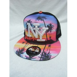 Casquette Ny Hawai Rose Enfant New York Fille
