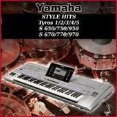 Mega Colections Styles Song Yamaha Psr, Tyros, Cvp
