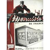Revue Le Menuisier De France N�152 - Novembre 1960 - Plans Du Mois : Terrasse Ferm�e Pour Auberge, Restaurant, Chambre � Coucher - La Vitese D'amen�e Des Toupies - Situation De La ... de COLLECTIF