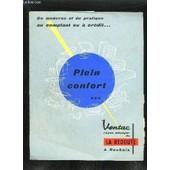 Catalogue La Redoute - Du Moderne Et Du Pratique Au Comptant Ou A Credit - Plein Confort - Ventac Rayon Menager De La Redoute A Roubaix de COLLECTIF