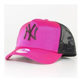 Casquette Trucker Femme New Era Ny Yankees Met Ball Rose