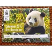 Calendrier 2013 Des Donateurs - Wwf