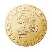 Pi�ce De 50 Centimes D'euros - Monaco 2002