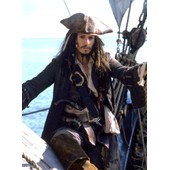 Photo Johnny-Depp Pirate Des Caraibes Format 11x15 Cm