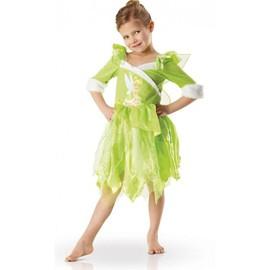 D�guisement F�e Clochette Winter Enfant Luxe - 5-6 Ans (116 Cm)