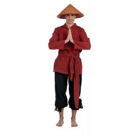 D�guisement Moine Chinois Adulte - L - Rouge