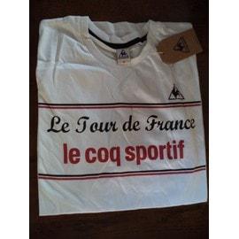 Collection Tour De France Tenue Officielle T-Shirt Femme Le Coq Sportif Taille S Collector