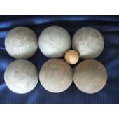 Lot De 6 Boules De Petanque Jb 680 + Cochonnet