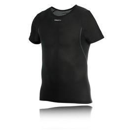 Craft Superlight Mesh Homme Noir Manche Courte Running Sport T Shirt Tee Top