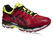 Asics Gel-Kayano 22 Hommes Rouge Support Running Chaussures Baskets Sneakers