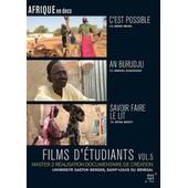 Films D'�tudiants : C'est Possible + An Burudju + Savoir Faire Le Lit - Vol. 5 de Amina Weira