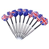 3pcs Steel Pourboire Darts 22g Bon Vol Harrow Point Escadre Aiguille Baril Petit Puits