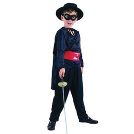 Costume Enfant Bandit Masqu�, S 4/6 Ans 120 Cm