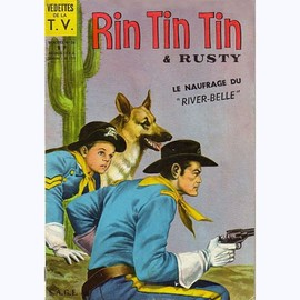 Rintintin Et Rusty N� 54 .Le Naufrage Du River Belle