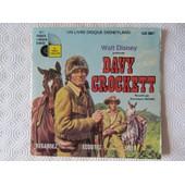 Davy Crockett (Livre-Disque) - Walt Disney - Dominique Paturel