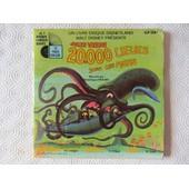 20.000 Lieues Sous Les Mers (Livre-Disque) - Walt Disney - Jules Verne - Dominique Paturel