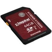 Kingston 64Go SDXC UHS-I U3 carte m�moire