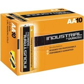 Duracell Industrial AA penlite PC1500 piles (10 pi�ces)