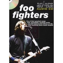 Wise Publications - Play Along Guitar - Foo Fighters (anglais)