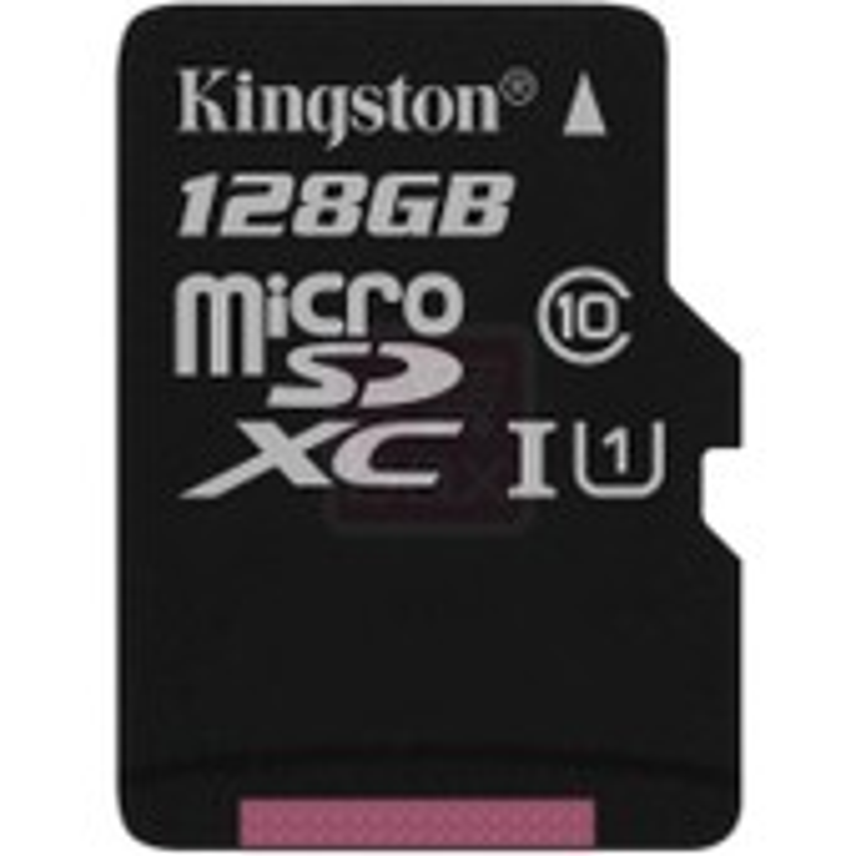 Kingston 128 Go microSDXC Classe 10 UHS-I carte m�moire