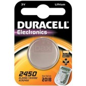 Duracell CR2450 pile bouton lithium