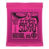 Ernie Ball 2223 Super Slinky Jeu De Cordes Guitare �l. Guitar Super Slinky .009 - .042 Pink