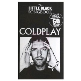 MusicSales The Little Black Songbook Coldplay