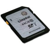 Kingston SD10VG2/64Go SDXC classe 10 UHS-I carte m�moire 64 Go
