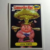 Carte Garbage Pail Kids Card Topps 2015 Les Crados Cute Tippi 4a Of 10