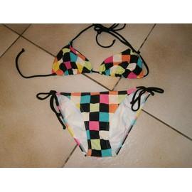 Maillot De Bain 2 Pieces Marque Roxy Venice Beach Bl Polyamide 36 Multicolore
