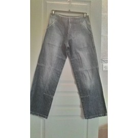 Jean Homme Ritchie Coton 42 Bleu Used