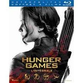 Hunger Games - L'int�grale : Hunger Games + Hunger Games 2 : L'embrasement + Hunger Games - La R�volte : Partie 1 + Partie 2 - �dition Limit�e - Blu-Ray de Ross Gary