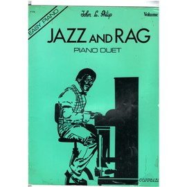Jazz and Rag Easy Piano Piano Duet Vol2