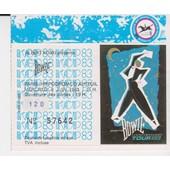 Ticket Concert David Bowie Auteuil 8/6/83