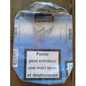 Paquet De Cigarettes Gauloises Brunes Bleues