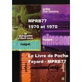 Maigret 3 Volume Poche - La T�te D'un Homme (1970) - La Guinguette � Deux Sous (1971) - Maigret, Offert Par Elf (1971) - Broch�s, Imprim�s En France Par Brodard & Taupin