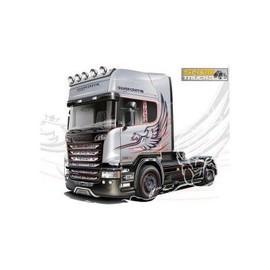 Maquette camion : Scania R730 V8 Streamline