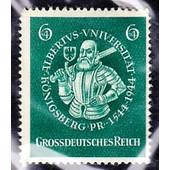 6+4 Pfennig Universit�t Albertus 1944 (Grossdeutsches Reich)