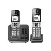 Panasonic Kx-Tgd322 - T�l�phone Sans Fil - Syst�me De R�pondeur Avec Id D'appelant/Appel En Instance - Dect\Gap - Argent�(E), Gris Charbon + Combin� Suppl�mentaire