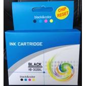 Cartouche D'encre Noire 302 Xl Compatible Hp