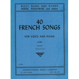 40 french songs volume 2 (low)