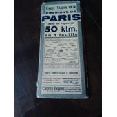 Cartes Taride N 62 Environs De Paris de Taride