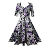 Wecheers� Robe Pin Up Retro Vintage Style ..