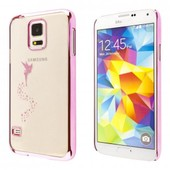 Ecence Samsung Galaxy S4 Mini I9190 I9195 I9192 Duos Coque De Protection Rigide Housse Case Cover F�e Rose 43030502