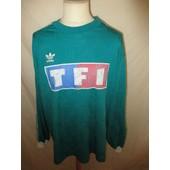 Maillot De Football Vintage Port� Coupe De France N� 3 Adidas Vert Taille Xl