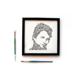 Muse- Matthew bellamy - Portrait biographique - Edition Limitée de 100 prints
